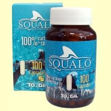 Squalo - Cartílago de tiburón - 100 cápsulas - Tongil