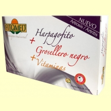Fitomed Harpagofito + grosellero negro + vitaminas - 20 ampollas - Dieticlar *