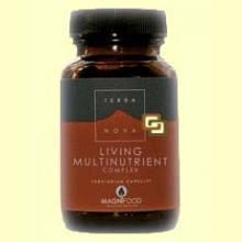 Multinutriente Vivo - 50 cápsulas - Terra Nova