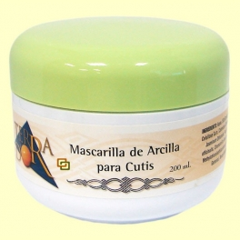 Macarilla de Arcilla para cutis Terra D'or - 200 ml - derbós