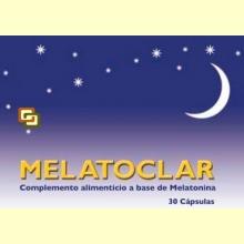 Melatoclar - 30 cápsulas - Dieticlar