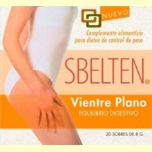 Sbelten Vientre Plano - 20 sobres - Dieticlar